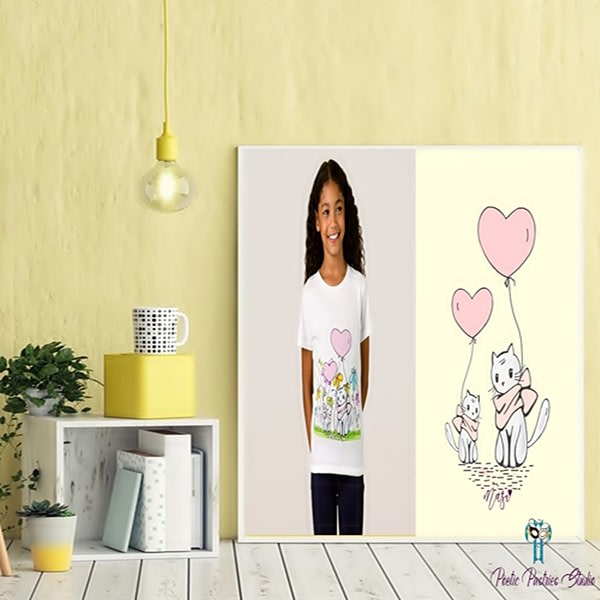 Illustration for Children's Shirt