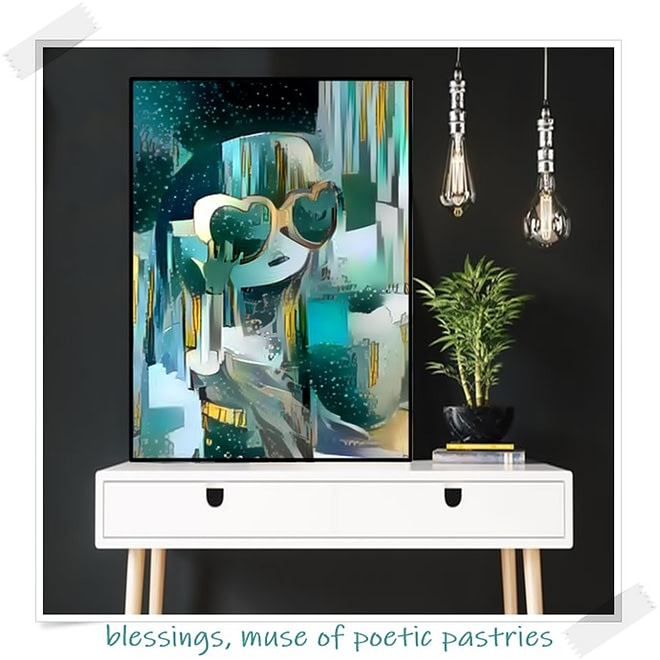 Flotrol mixed medium canvas series