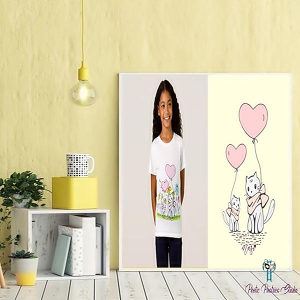 Illustration for Children's Shirt