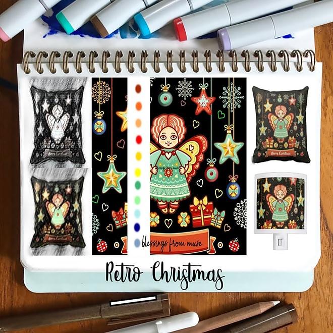 WIP Illustration Holiday