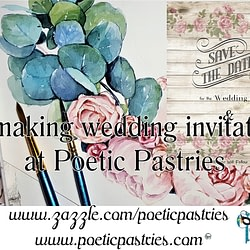 Watercolor, illustration wedding applications