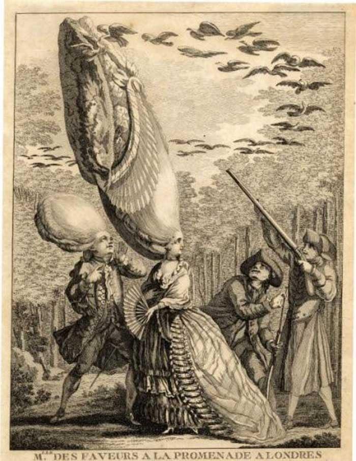 Cartoon of Antoinette