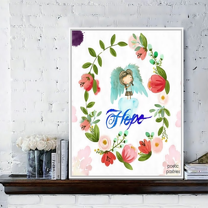 Illustration and Watercolor - Home Decor - Wall Art